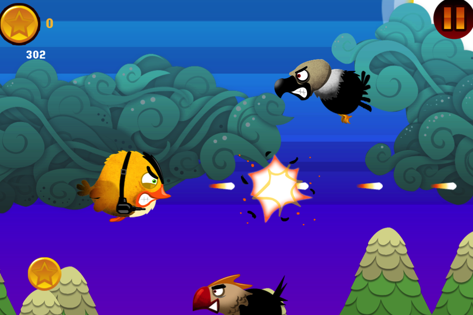 Screenshot Birds of War! Free Flying War Game