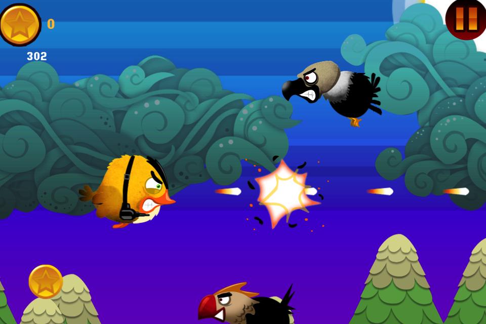 Screenshot Birds of War! Free Flying War Game